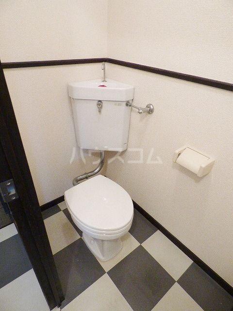Kステーション八田 401号室のトイレ