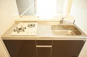 リオーネ博多 203号室のキッチン