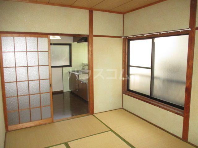 リバーランド箱崎 201号室のベッドルーム
