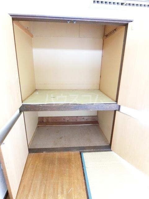 バビロンフラット 205号室の収納
