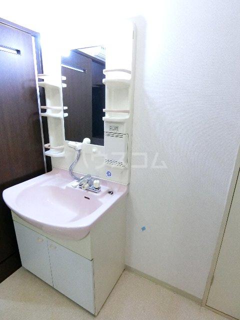 コスモテール吉塚 1004号室の洗面所