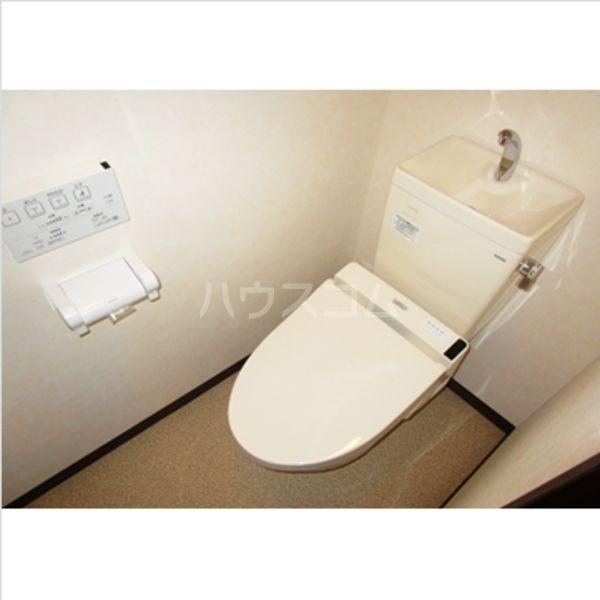アヴァンティ千代 601号室のトイレ
