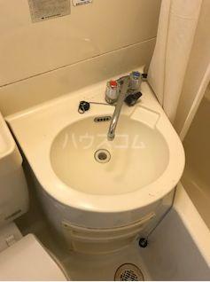 川鍋コーポ 13号室の洗面所