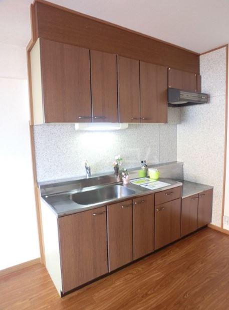 ラフィーネ篠栗 302号室のキッチン
