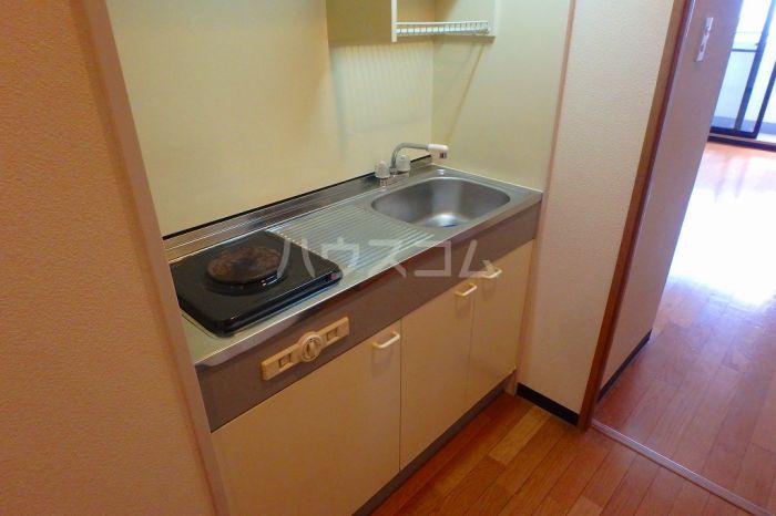 シティスクエア福岡 305号室のキッチン
