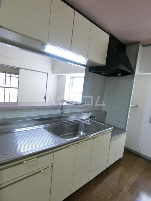 グローリアス箱崎 502号室のキッチン
