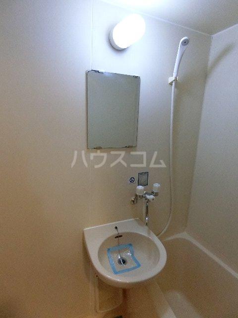 フルブルーム 302号室の洗面所
