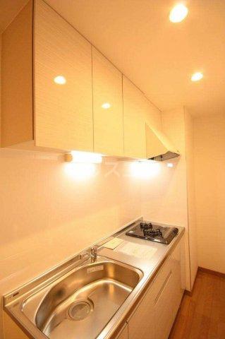 バーンメアオ シカリオン 102号室のキッチン