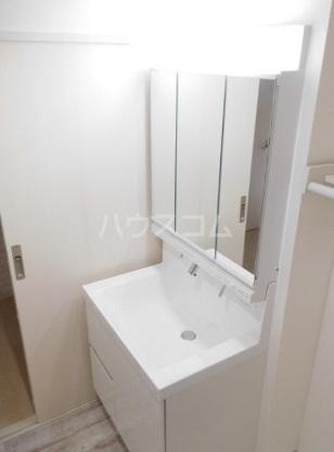 グリニッジ コート 201号室の洗面所