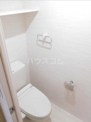 グリニッジ コート 401号室のトイレ