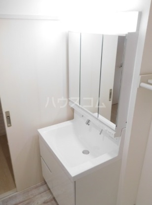 グリニッジ コート 401号室の洗面所