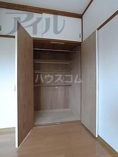 大神荘 101号室のトイレ