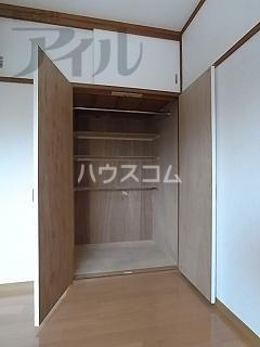 大神荘 101号室の収納
