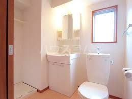 アクアシティイーストパーク 305号室の洗面所