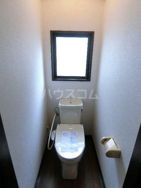 千代ビル 403号室のトイレ