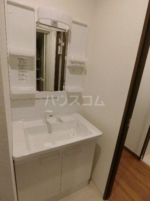 レンブランサ 202号室の洗面所