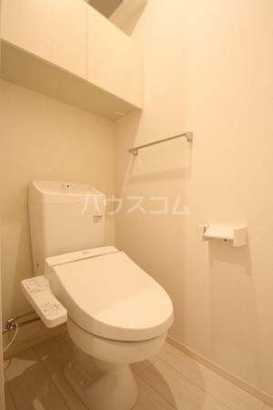 D-roomS・K A棟 205号室のトイレ