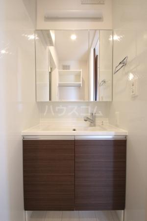 D-roomS・K A棟 205号室の洗面所