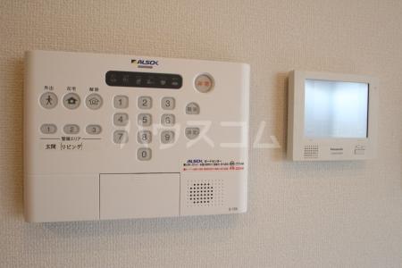 D-roomS・K A棟 205号室のセキュリティ