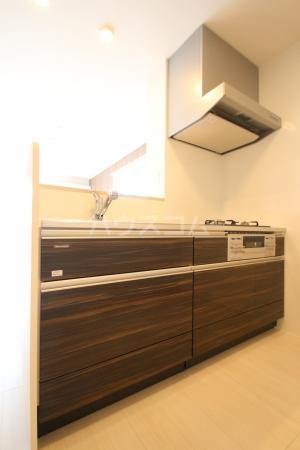 D-roomS・K A棟 205号室のキッチン