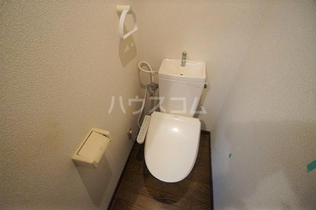 シャトー'98 103号室のトイレ