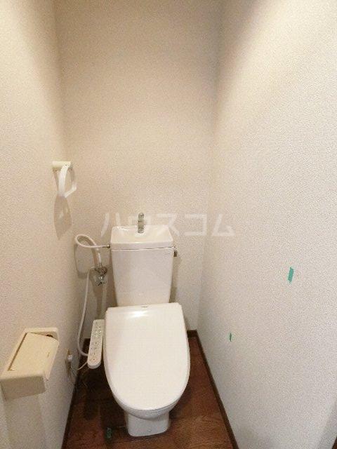 シャトー'98 405号室のトイレ