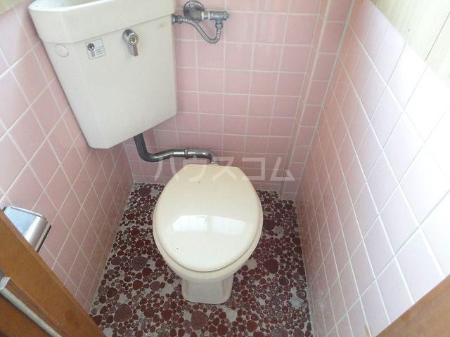 ハイツ坂本 202号室のトイレ