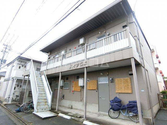 ハイツ坂本 202号室のエントランス