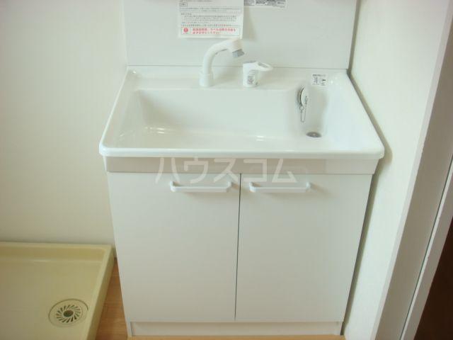 おくらもとハイツ 201号室の洗面所
