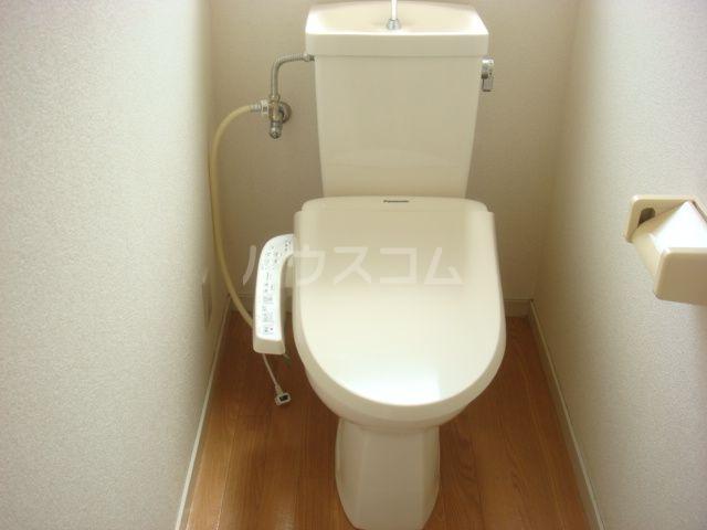 おくらもとハイツ 201号室のトイレ