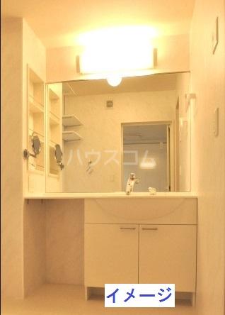 フェリーチェ B棟 302号室の洗面所