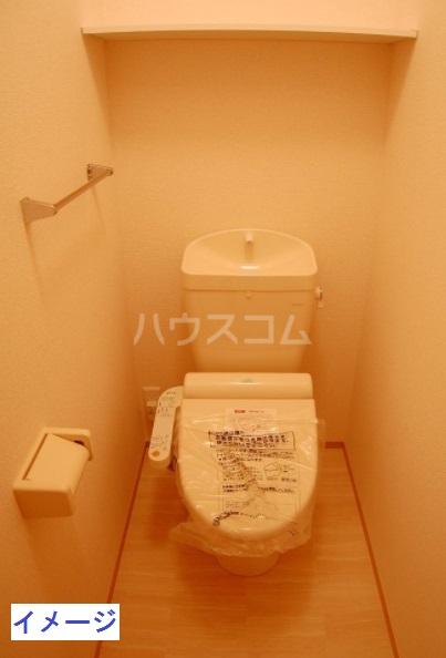 フェリーチェ B棟 302号室のトイレ