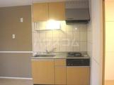 グラン・ボヌールⅠ 105号室のキッチン
