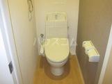 グラン・ボヌールⅡ 106号室のトイレ