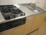 グラン・ボヌールⅡ 106号室のキッチン