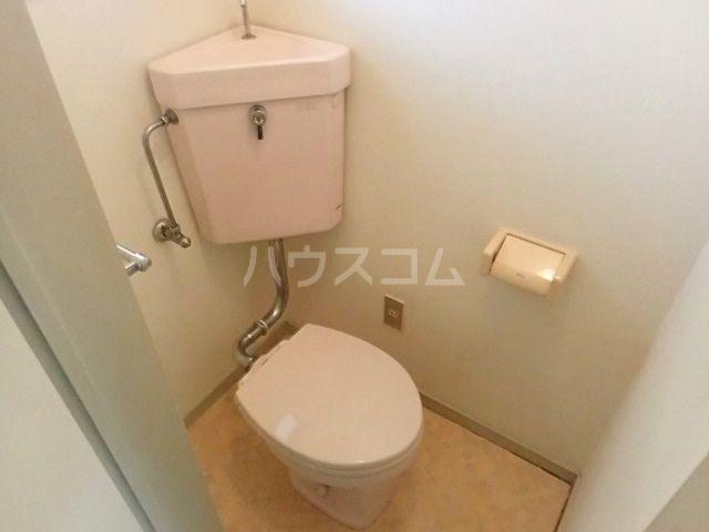 プラザ九大前Ⅰ 201号室のトイレ