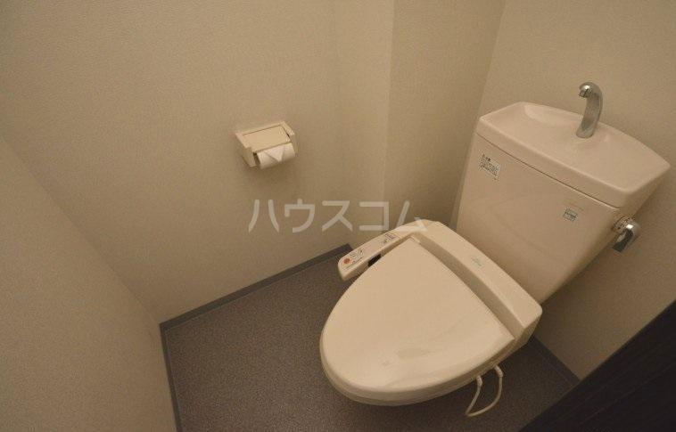 Dグラフォート千早ステーションレジデンス 807号室のトイレ