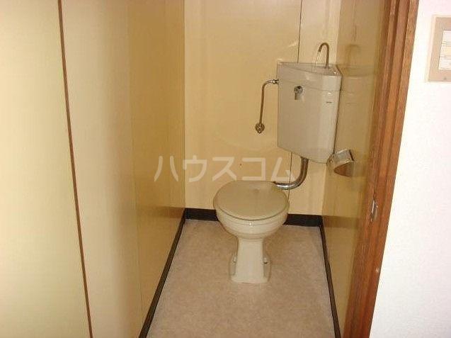 大明コーポ 206号室のトイレ