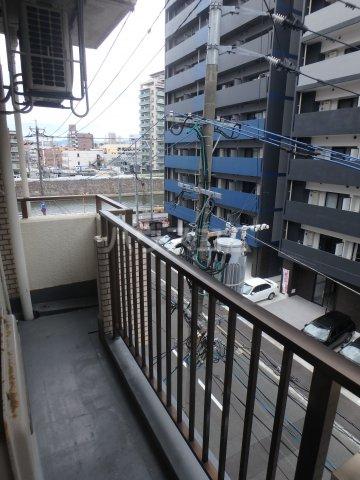 KYUKO第5ビル 4F号室のバルコニー
