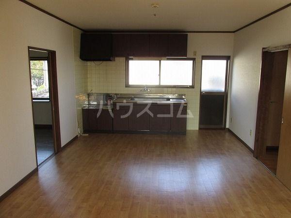 岸野荘 15号室のキッチン