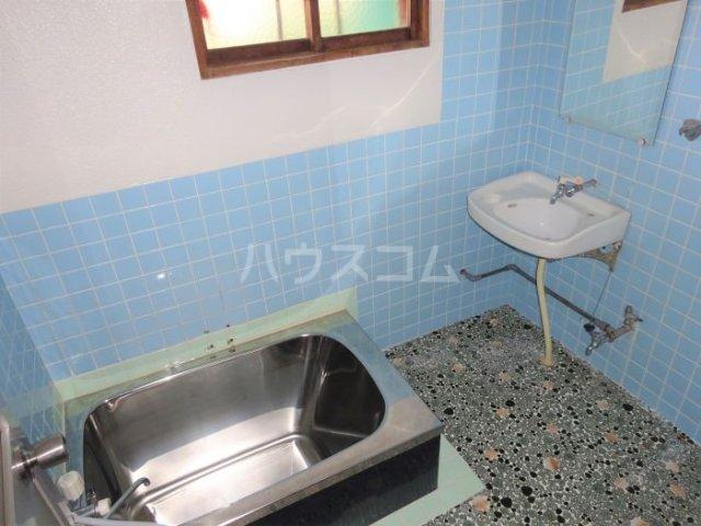 山方貸家の風呂