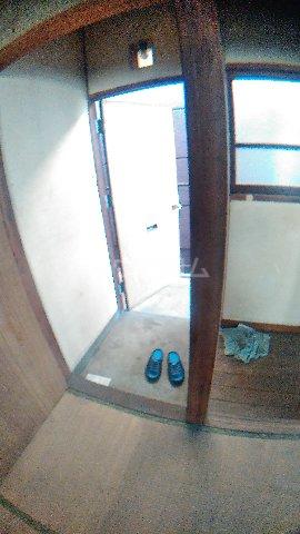 平野アパート 201号室の玄関