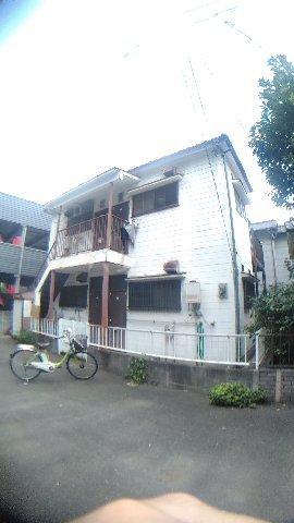 平野アパート 201号室のエントランス