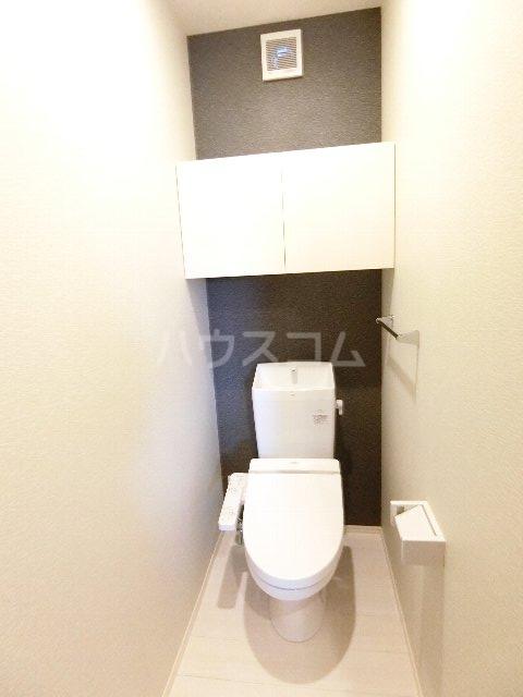 コンフォルタ柚月B棟のトイレ
