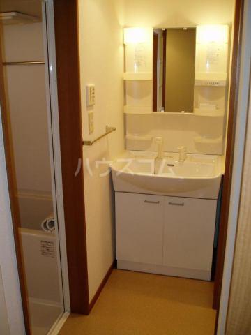 恵比須荘 103号室の洗面所