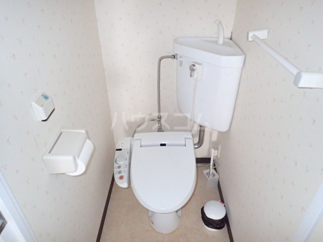 シティハウス博多 504号室のトイレ
