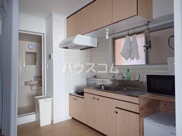 シティハウス博多 504号室のキッチン