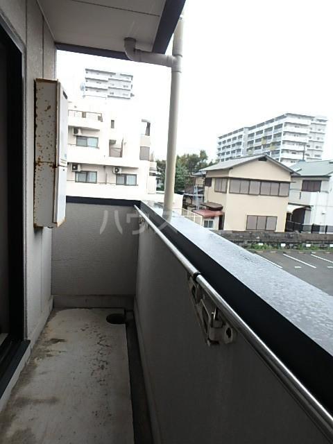 シバタビルディング 201号室のバルコニー