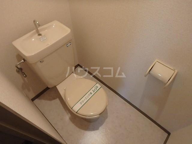 シバタビルディング 201号室のトイレ