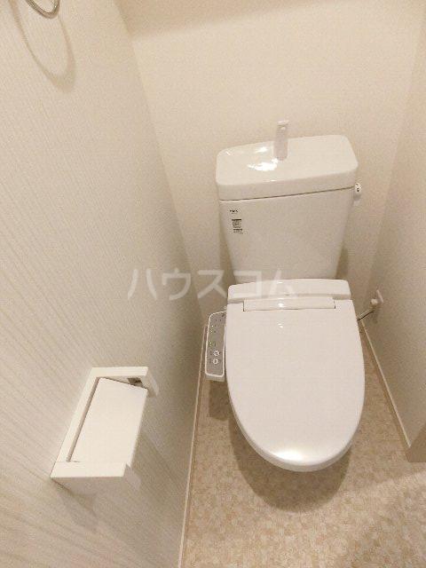J・プレミアム箱崎 202号室のトイレ